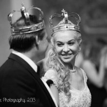 bride and groom wedding ceremony nikki kirk photography