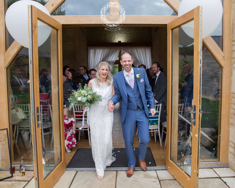 The Barn at Upcote wedding photographer Nikki Kirk