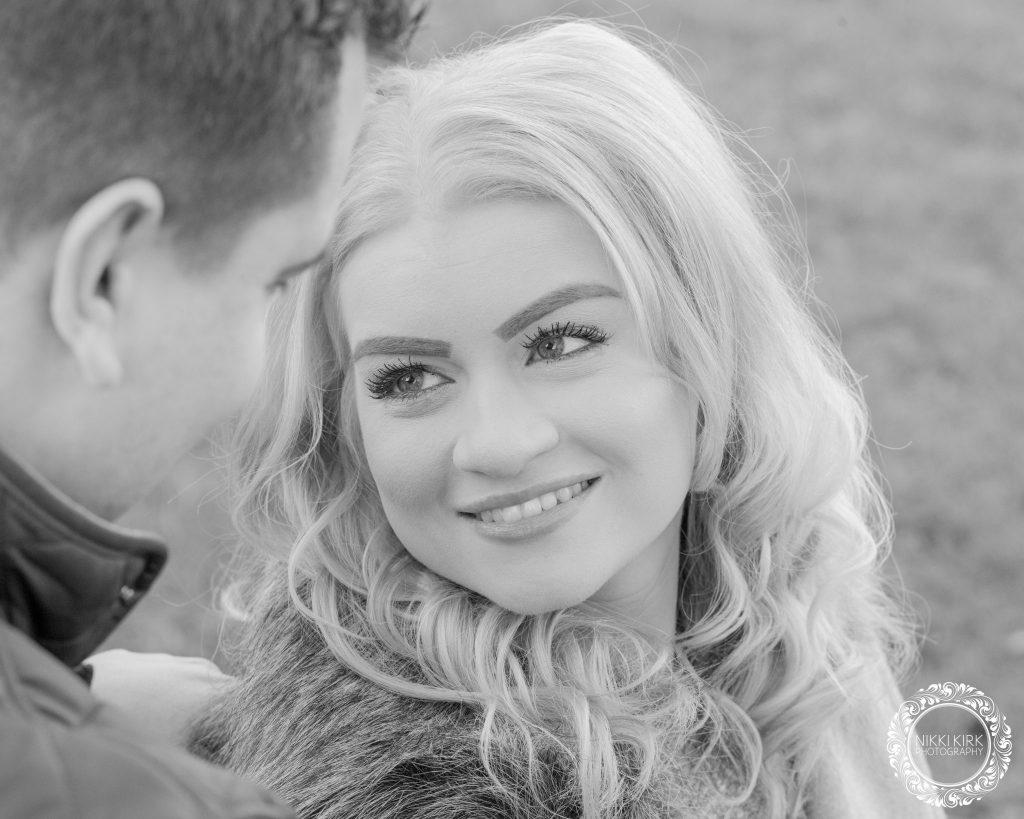 Engagement photo shoot Nikki Kirk Photography