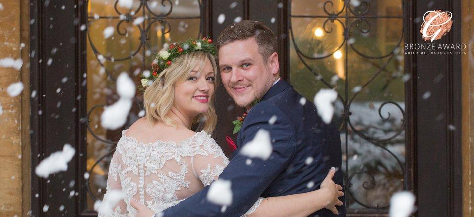 Wyck Hill House winter wedding