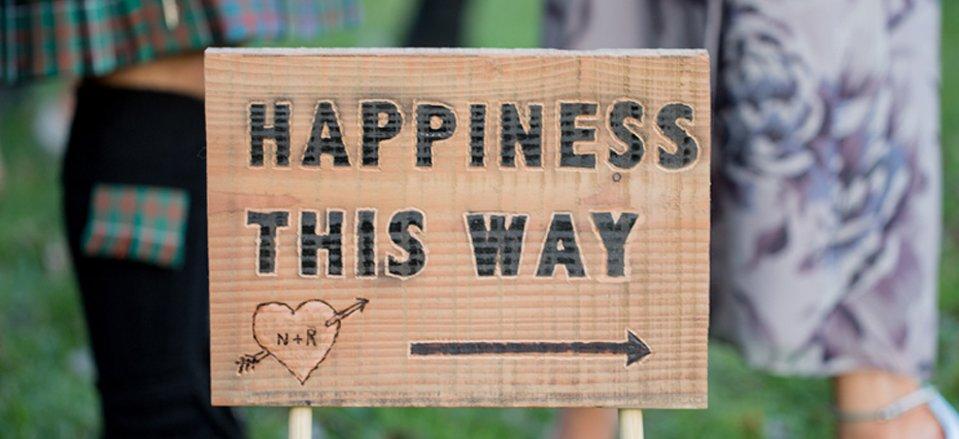 Cheltenham wedding sign