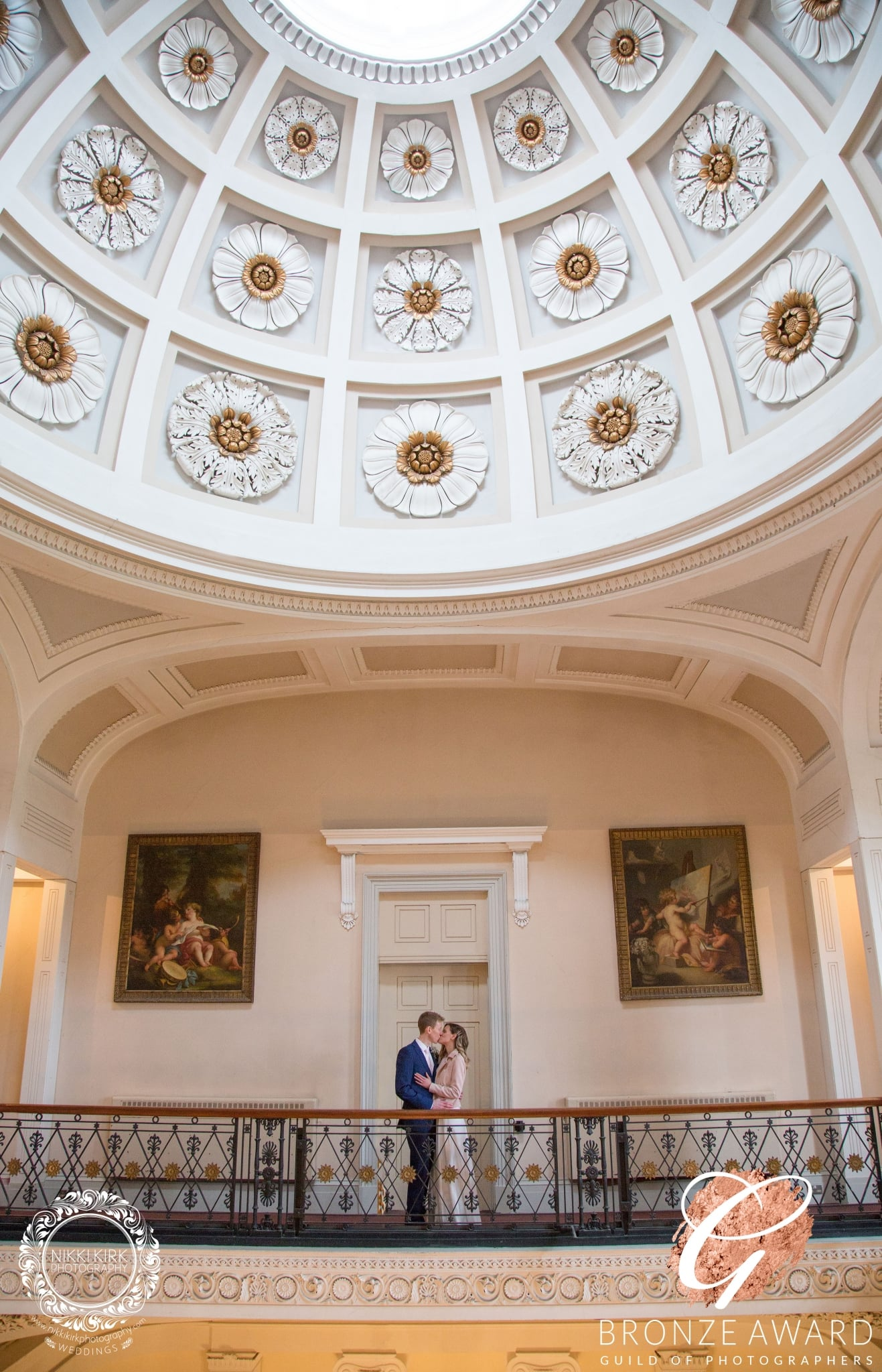 Pittville Pump Room Wedding Award Winning Photograph