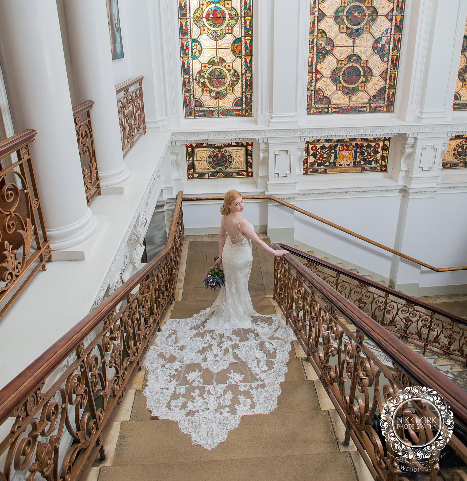 Rendcomb College wedding