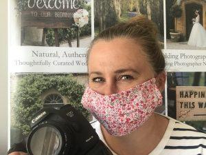 Social distancing wedding photographer